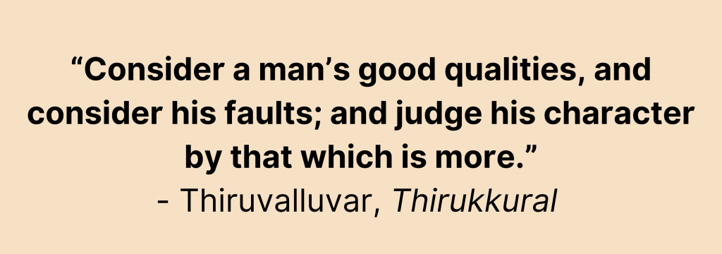 Here are three tips on how to manage your team successfully from the Thirukkural.