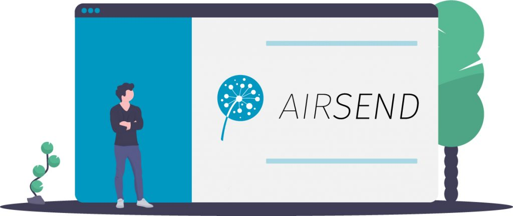 How the AirSend brand came to be.